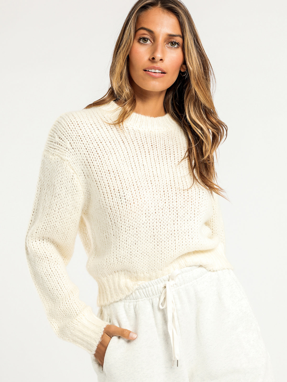 Raquel Knit in Off White