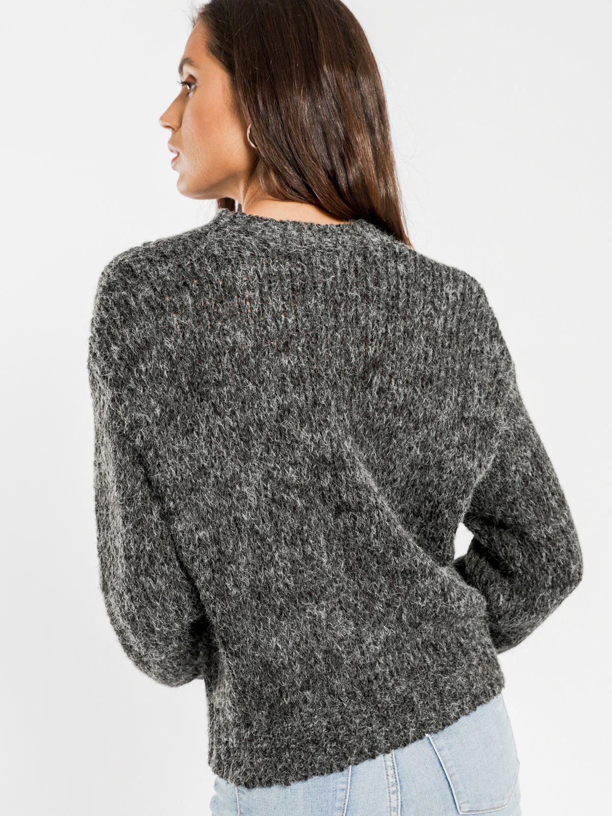 Raquel Knit in Charcoal