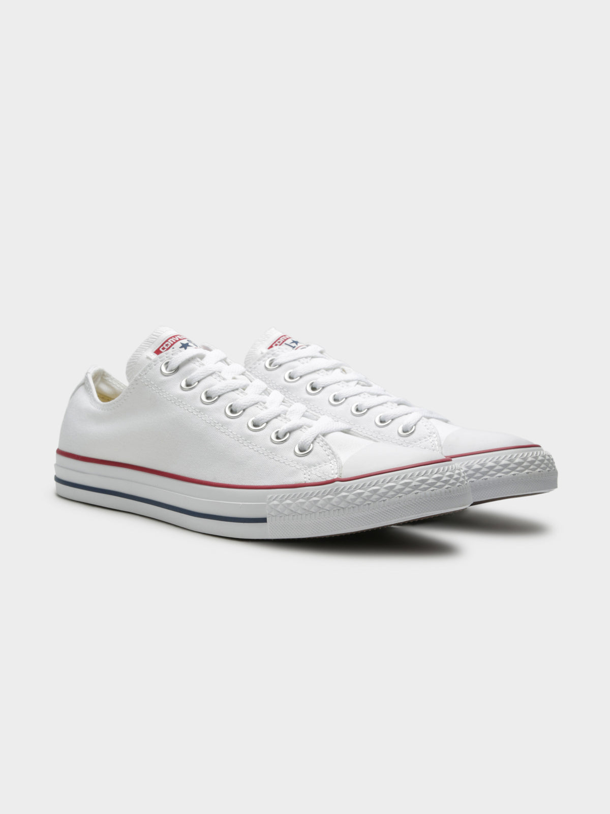 Unisex Chuck Taylor All Star Classic Low-Top Sneakers in White