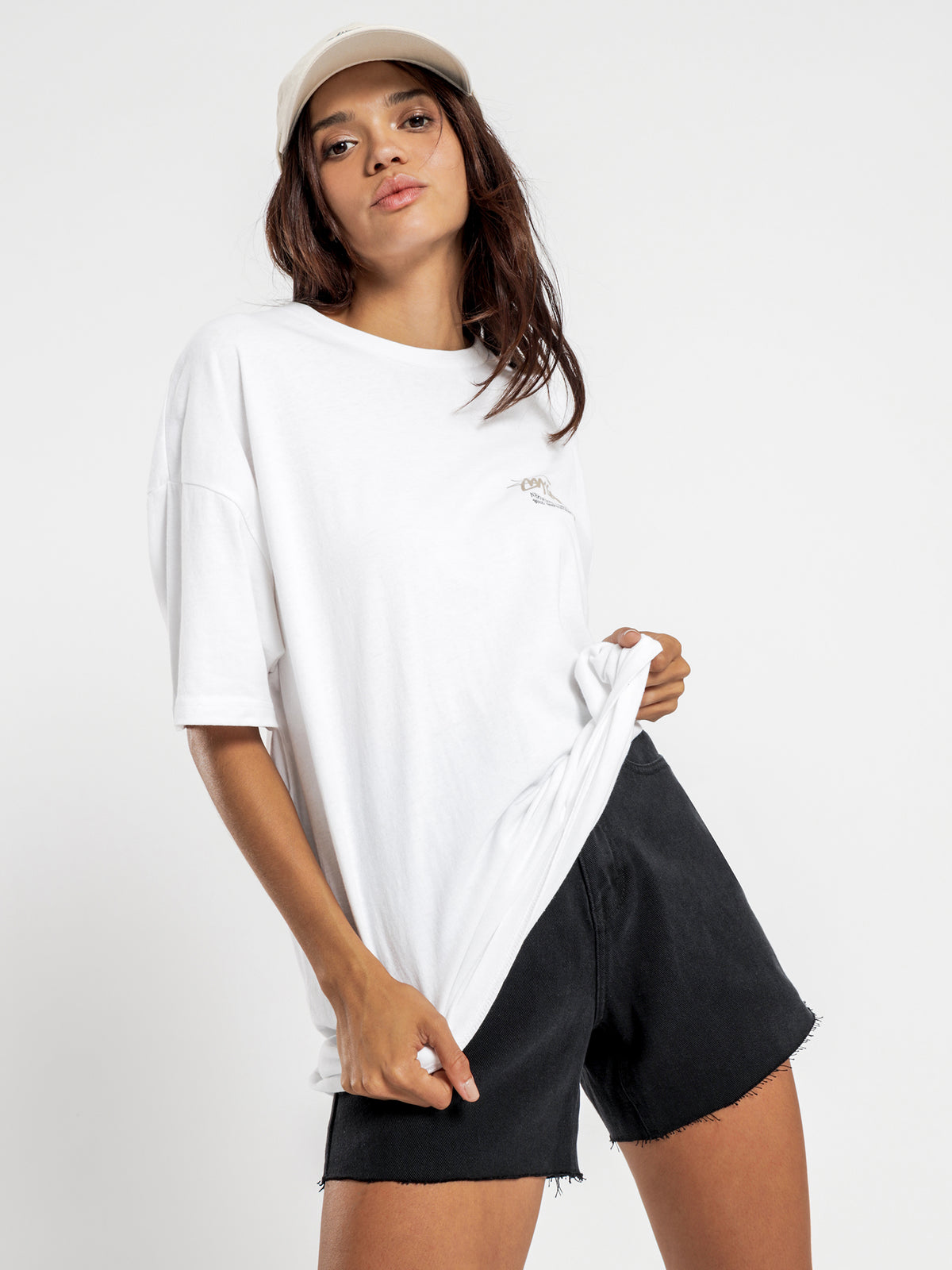 Stock Relaxed T-Shirt in White
