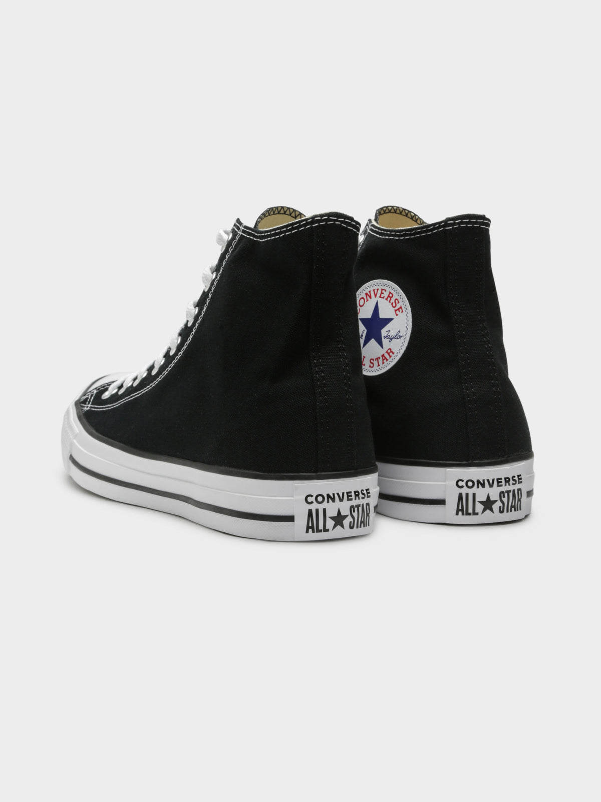 Unisex Chuck Taylor All Star High Top Sneakers in Black
