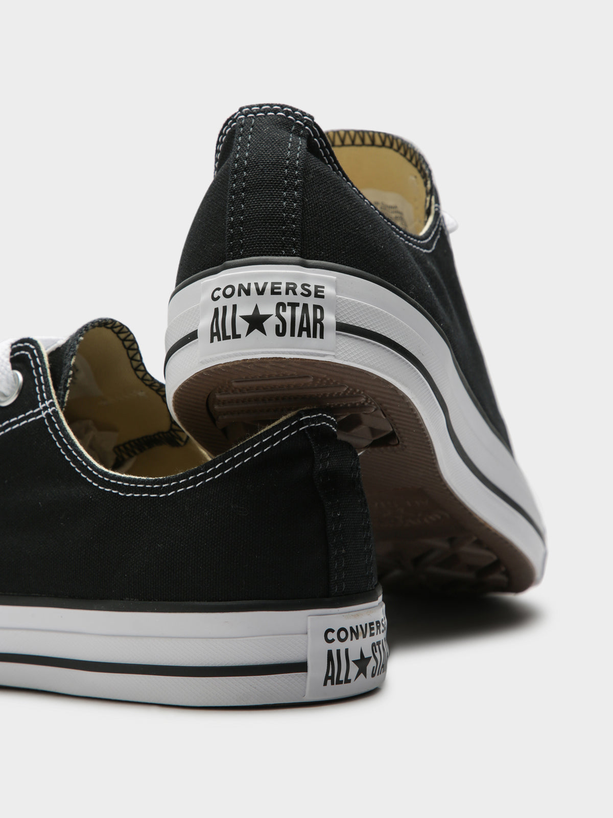 Unisex Chuck Taylor All Star Classic Low-Top Sneakers in Black