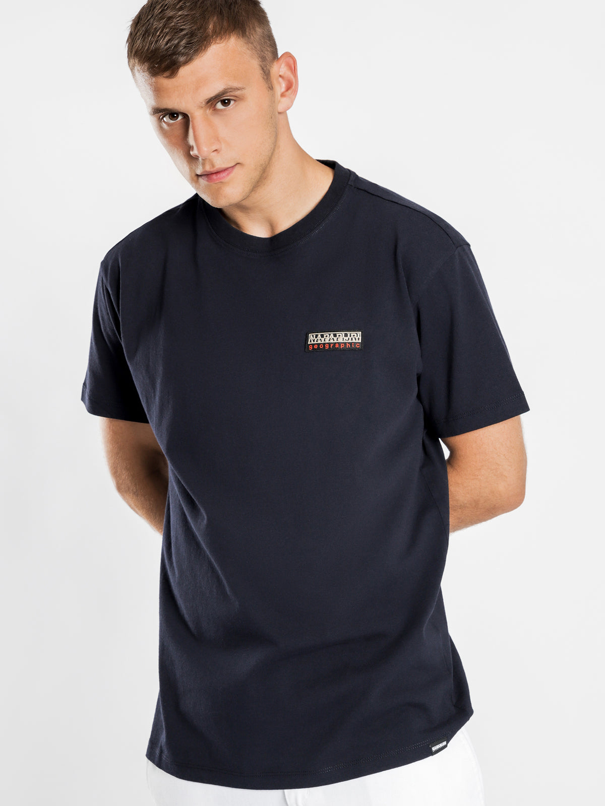 Sase Short Sleeve T-Shirt in Blue