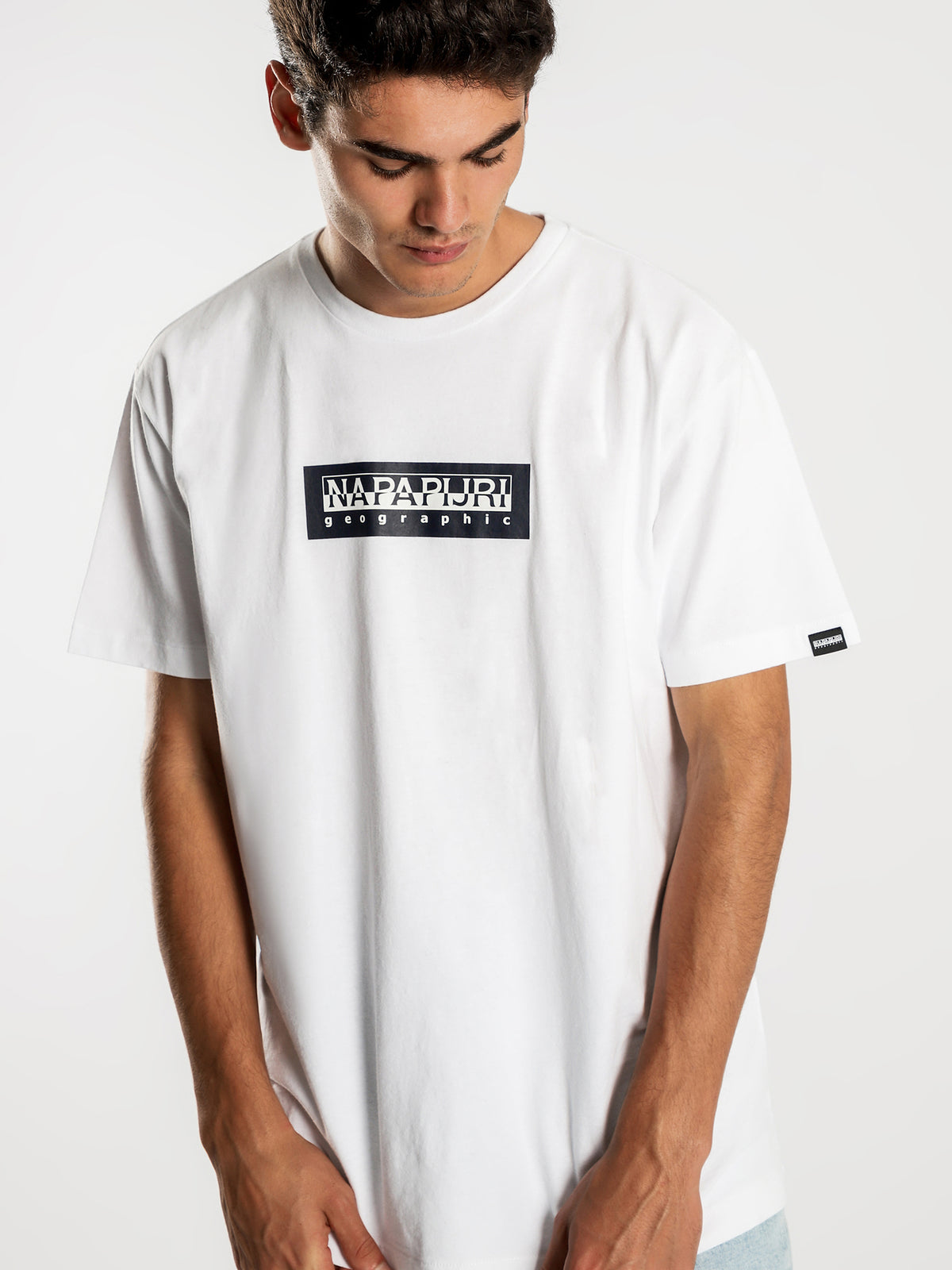 Sox Short Sleeve T-Shirt in White