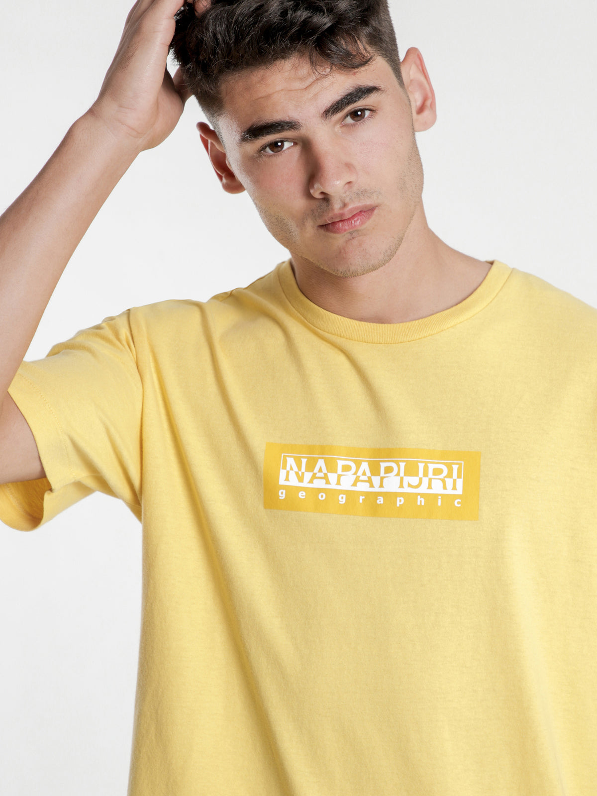 Sox Short Sleeve T-Shirt in Yellow