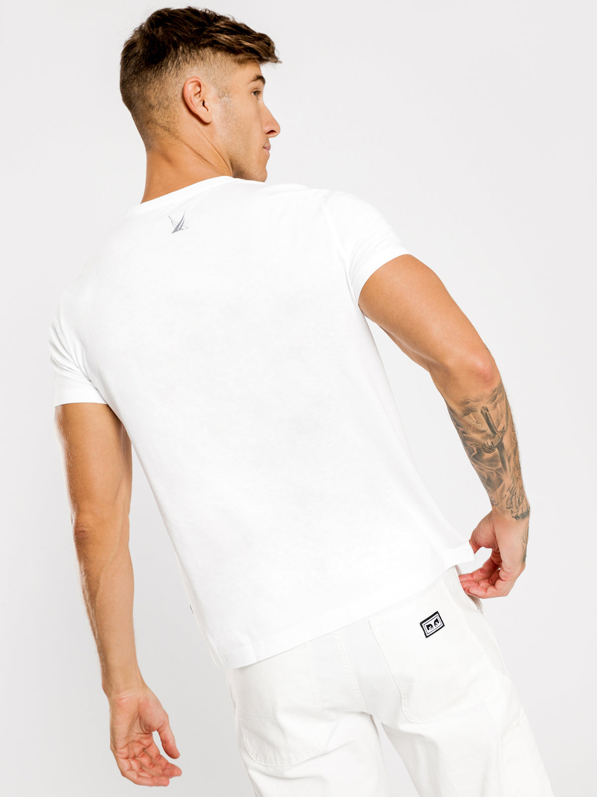 The Block Sailing Graphic T-Shirt in Bright White