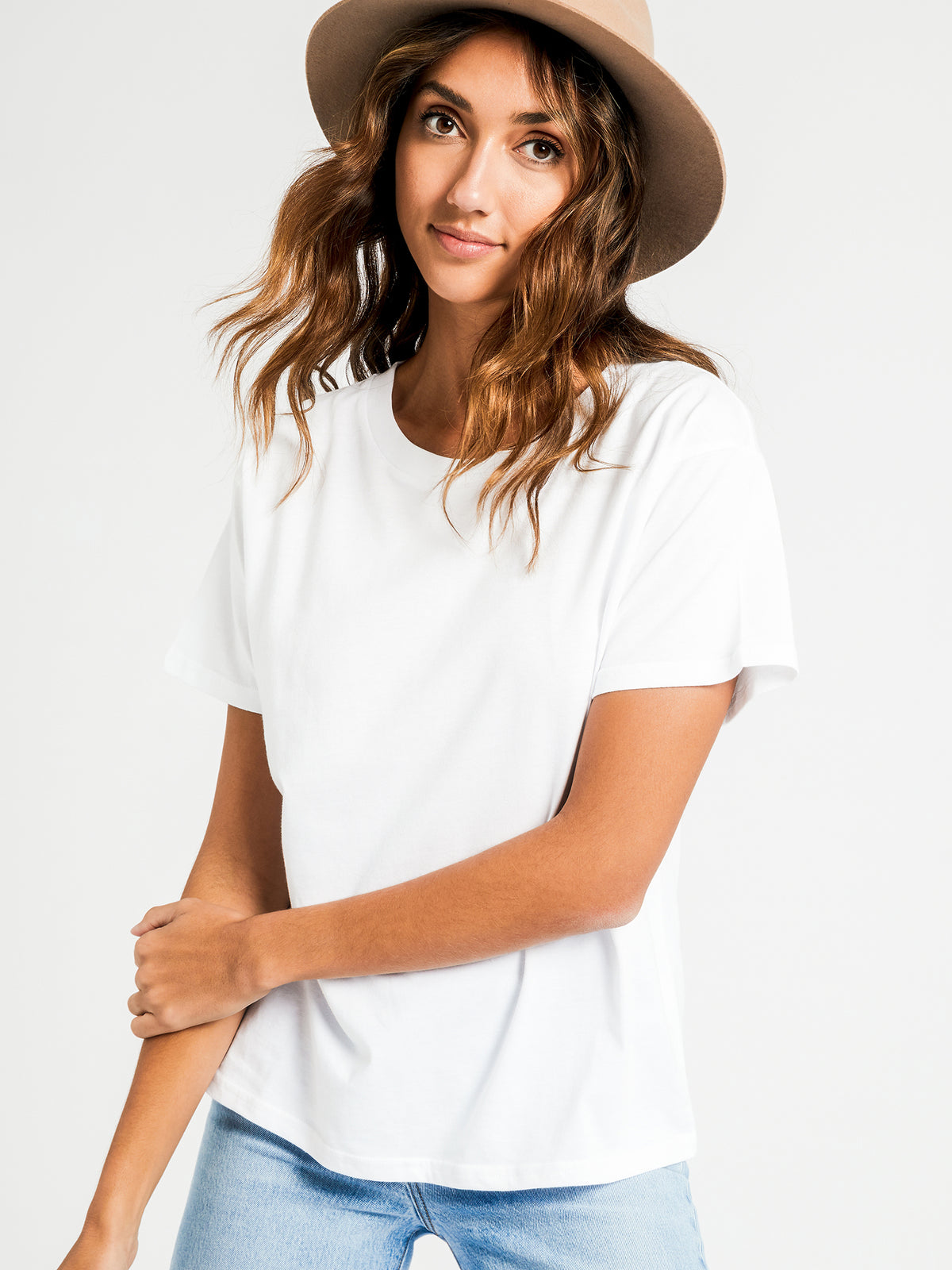 Frankie Boyfriend T-Shirt in White