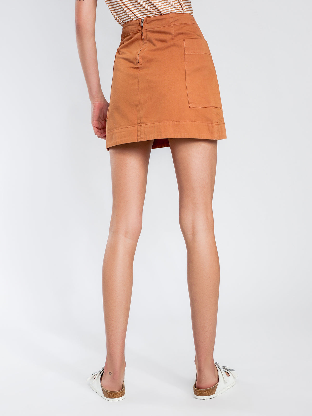Larsson Mini Skirt in Cinnamon