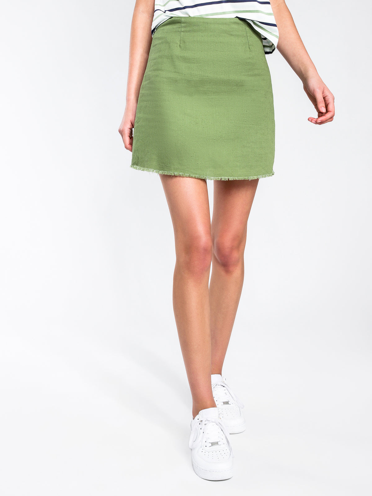 Flynn Skirt in Khaki