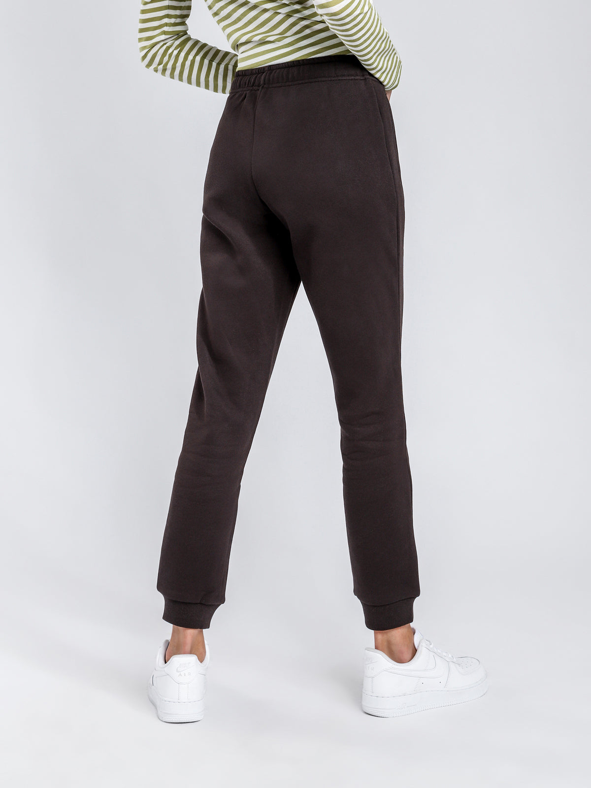 Carter Trackpants in Washed Black