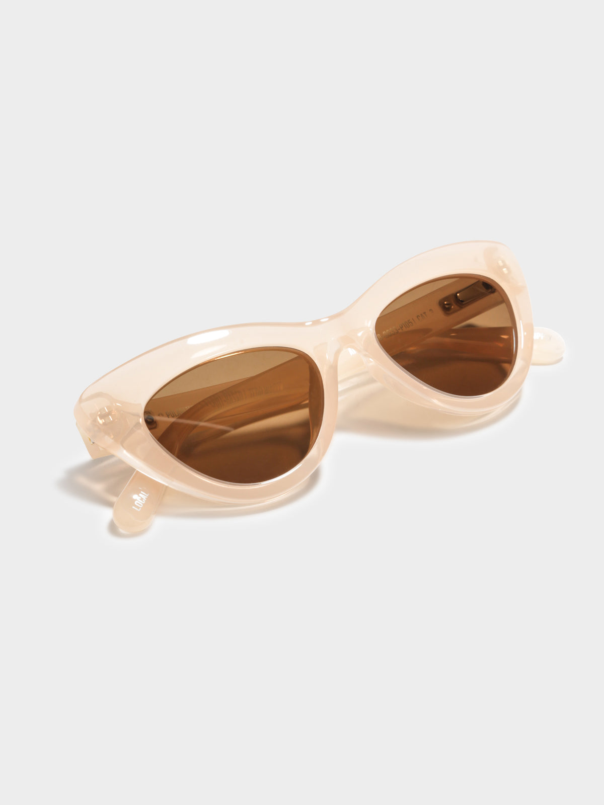 Ams Polaraised Sunglasses in Pearl