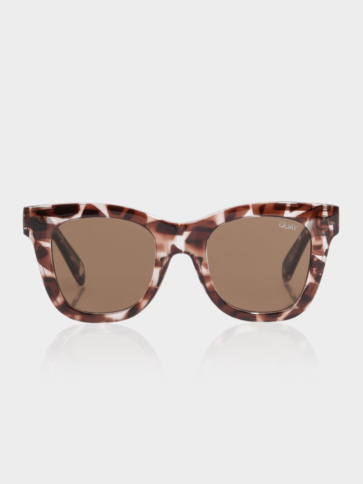 Womens After Hours Sunglasses in Tortoiseshell Finish with Brown Lenses