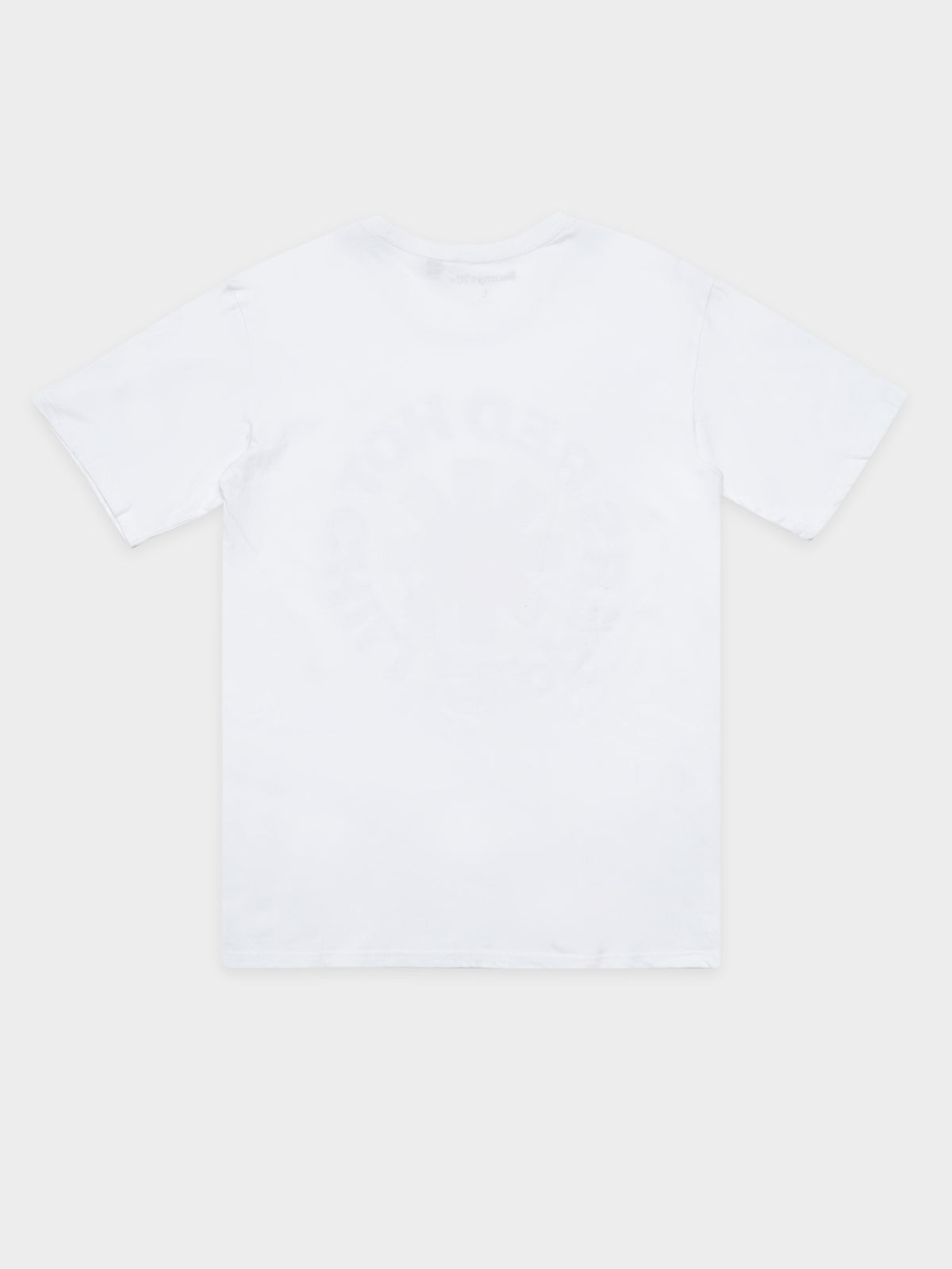 Red Hot Chilli Peppers Band T-Shirt in White