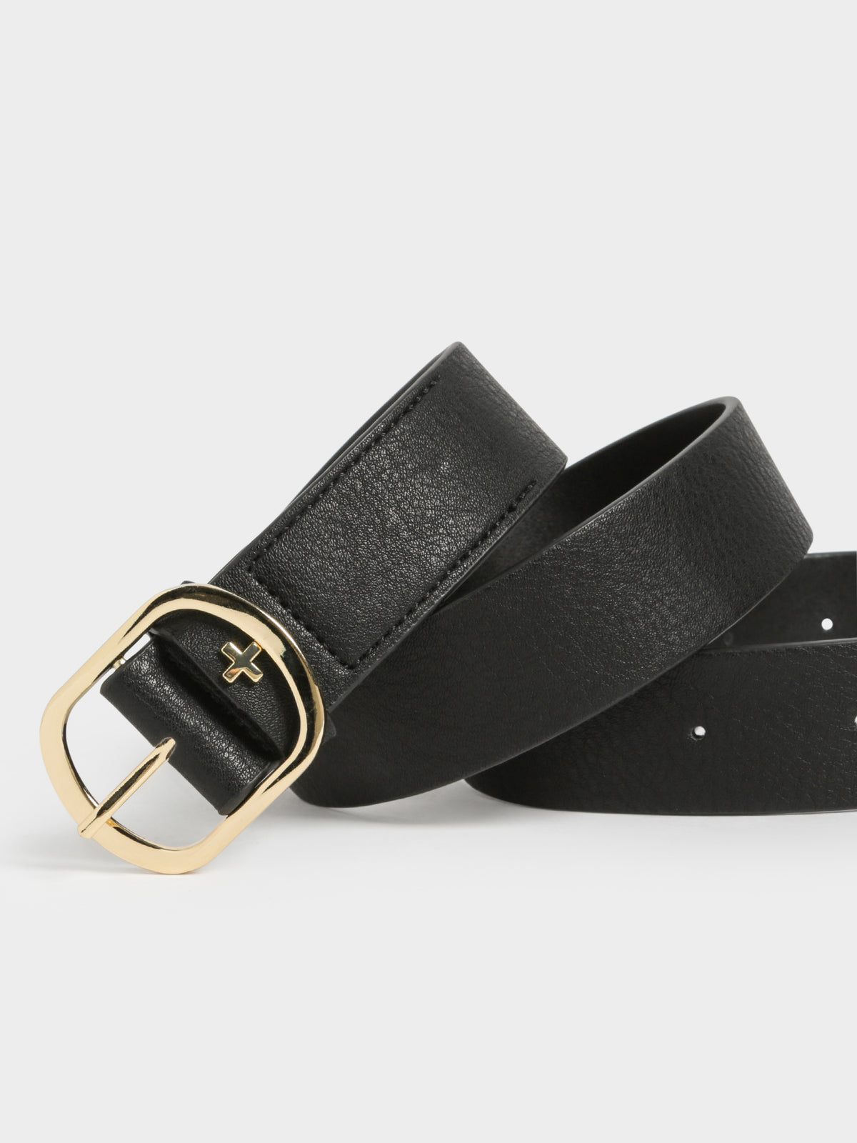Roxie Belt in Black & Gold
