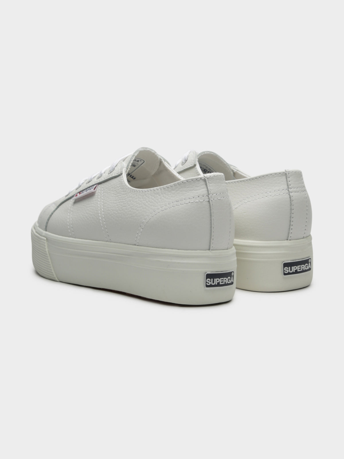 Womens 2790 FGLW Platform Sneakers in White Leather