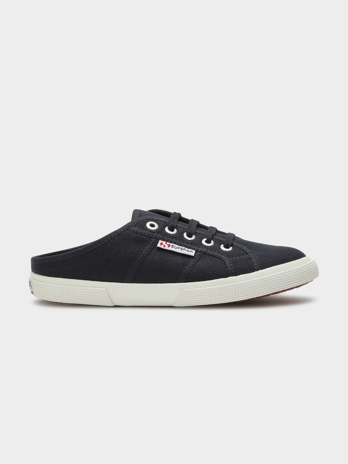 Womens Cotw Mule Slip On Sneakers in Navy