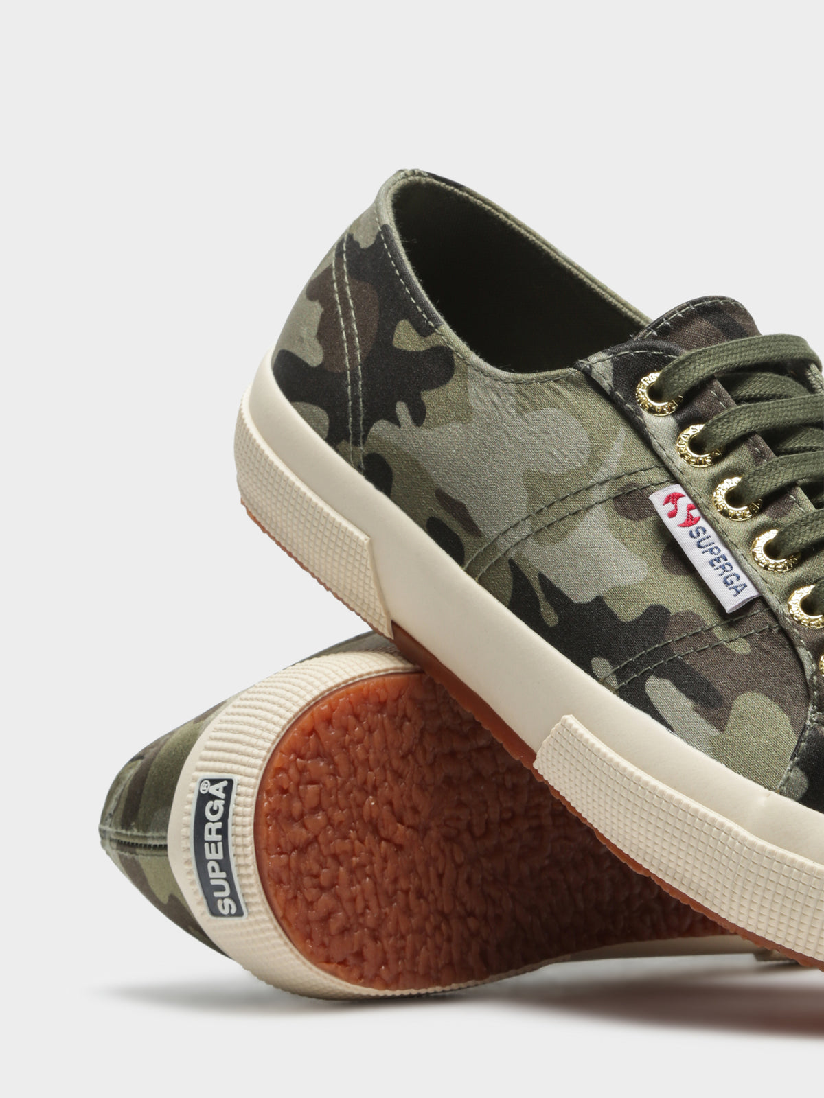 Womens 2750 Ras Camo Sneakers in Green