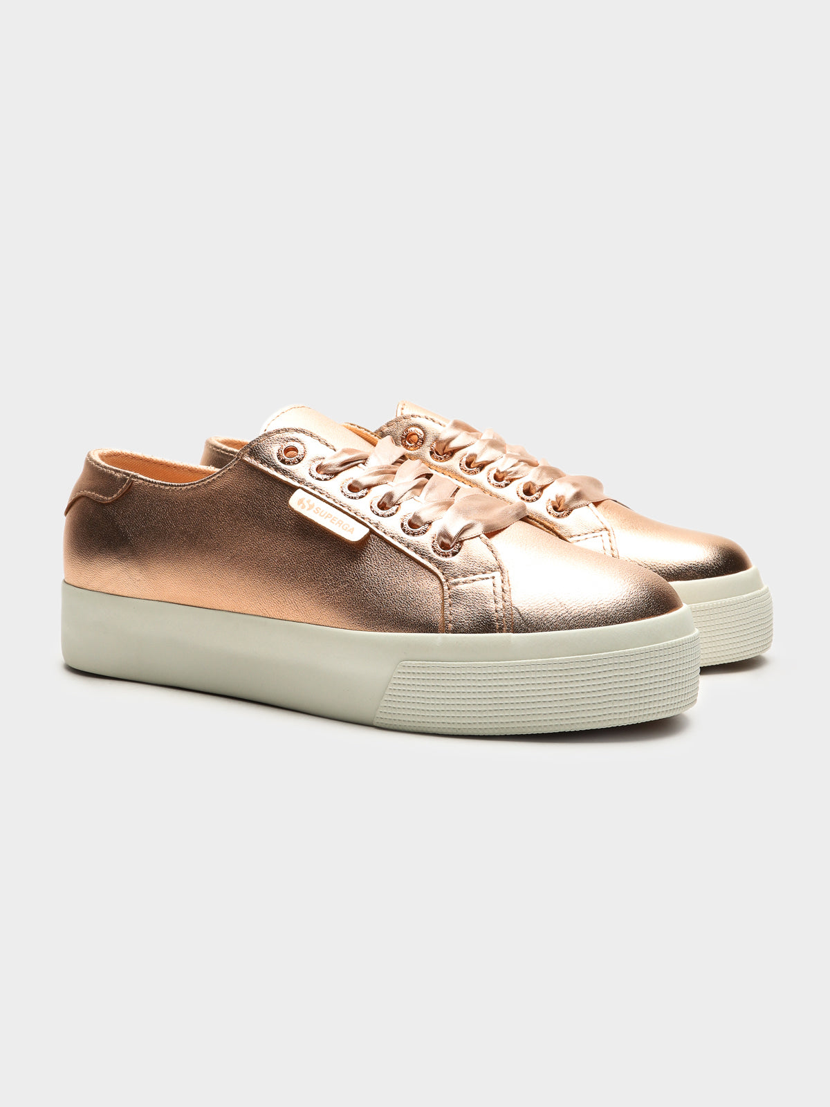 Womens 2730 Nappa Mirror Shoes in Rose Gold