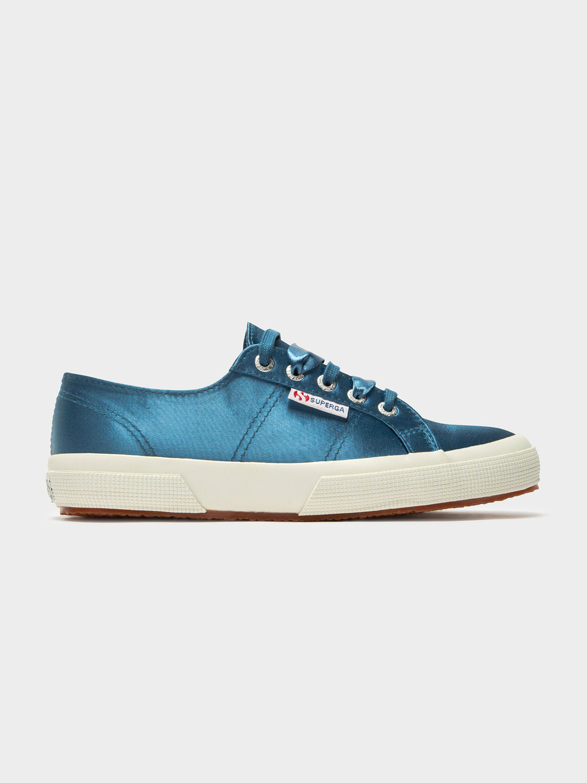 2750 Satin Sneakers in Blue