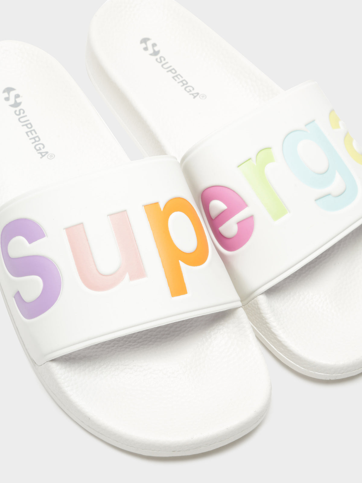 Womens 1908 PUU Slides in White