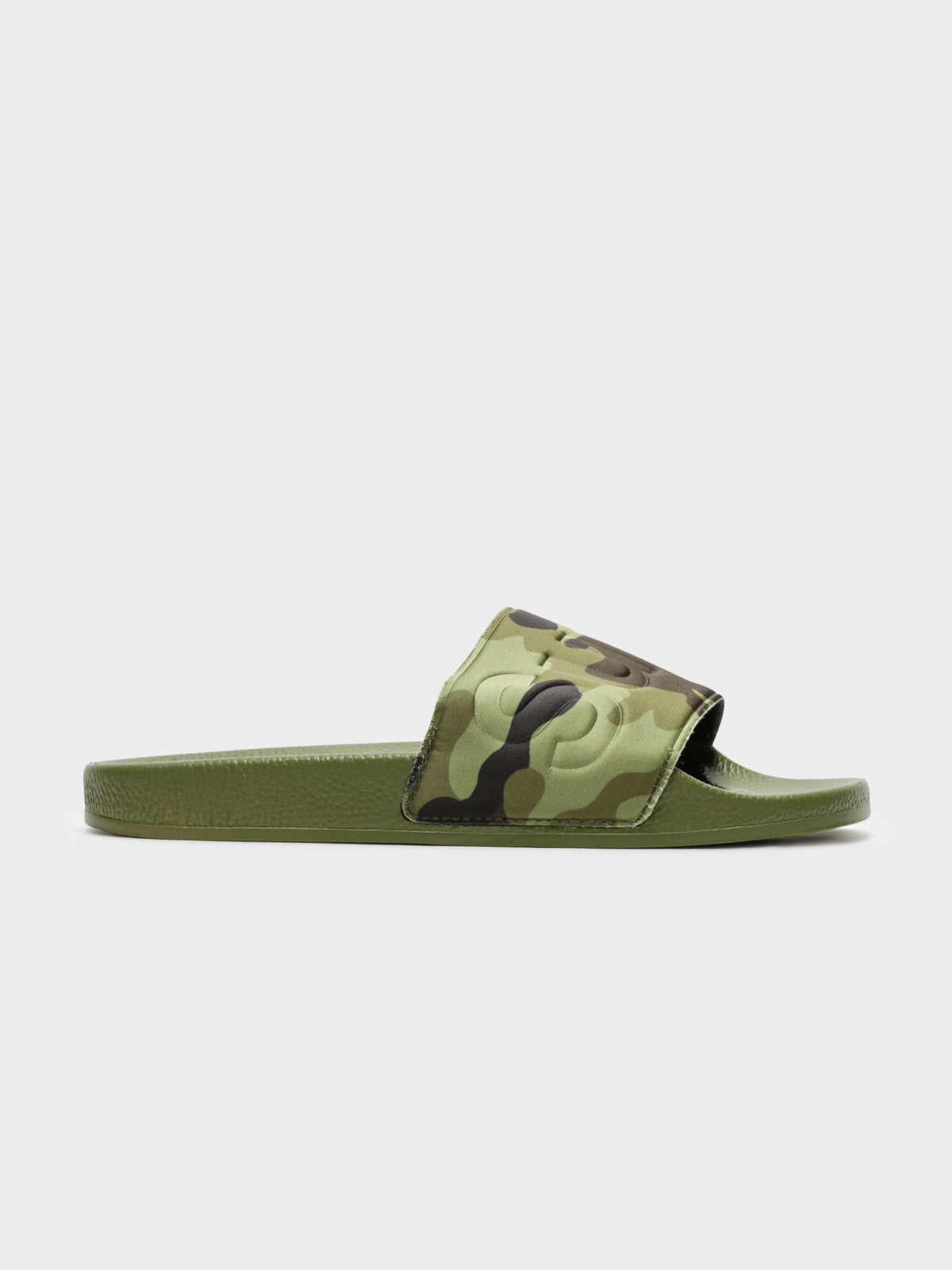 Womens 1908 Rasocamow Slides in Green Camo