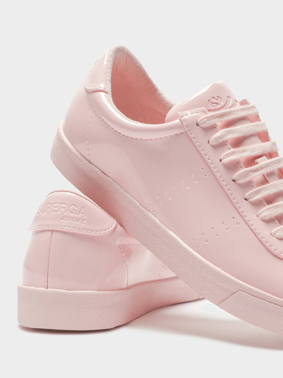 Womens 2843 Clubs Syneaw Pastel Sneakers in Soft Pink