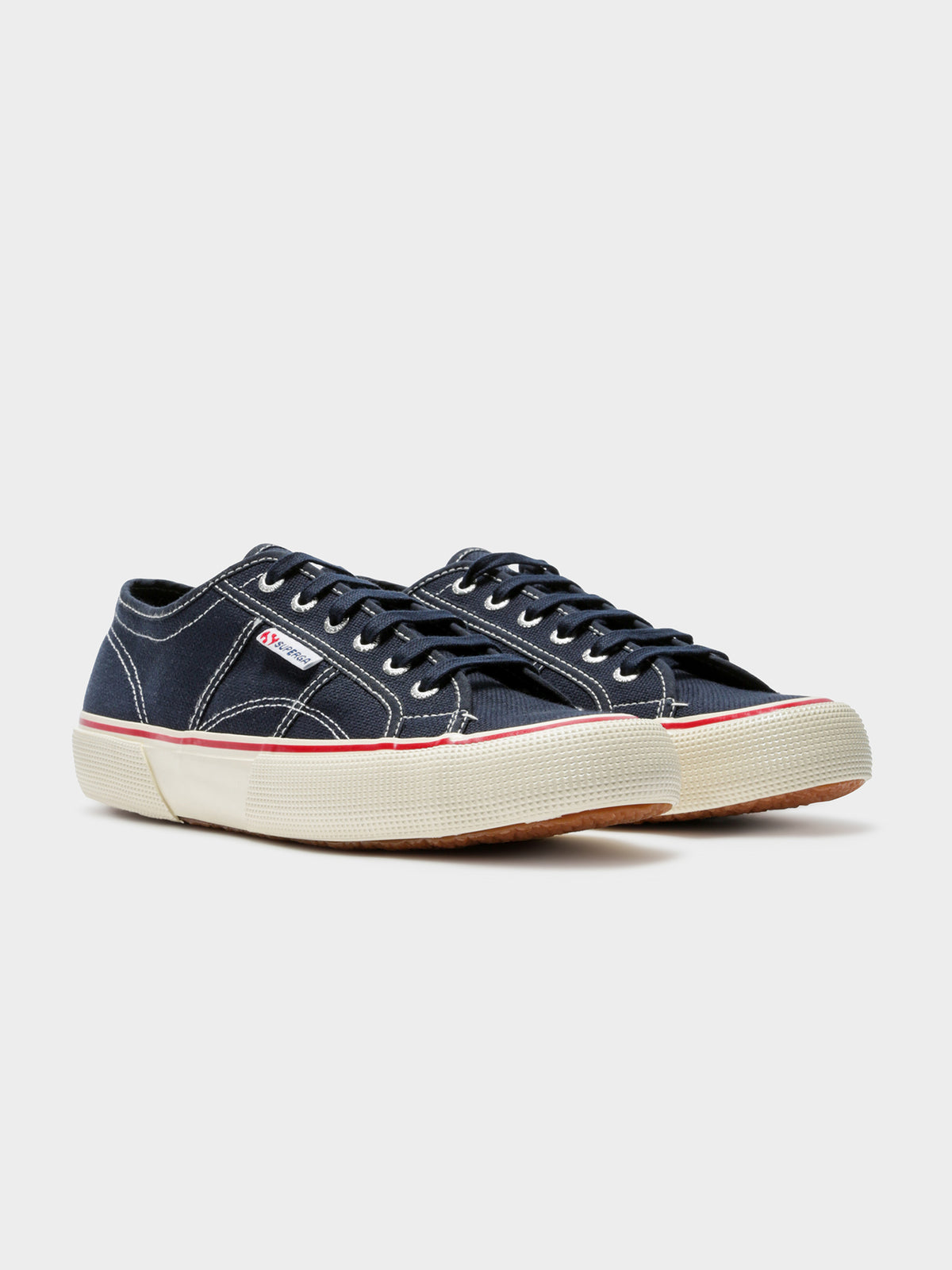 Mens 2490 Cotu Sneakers in Navy & White