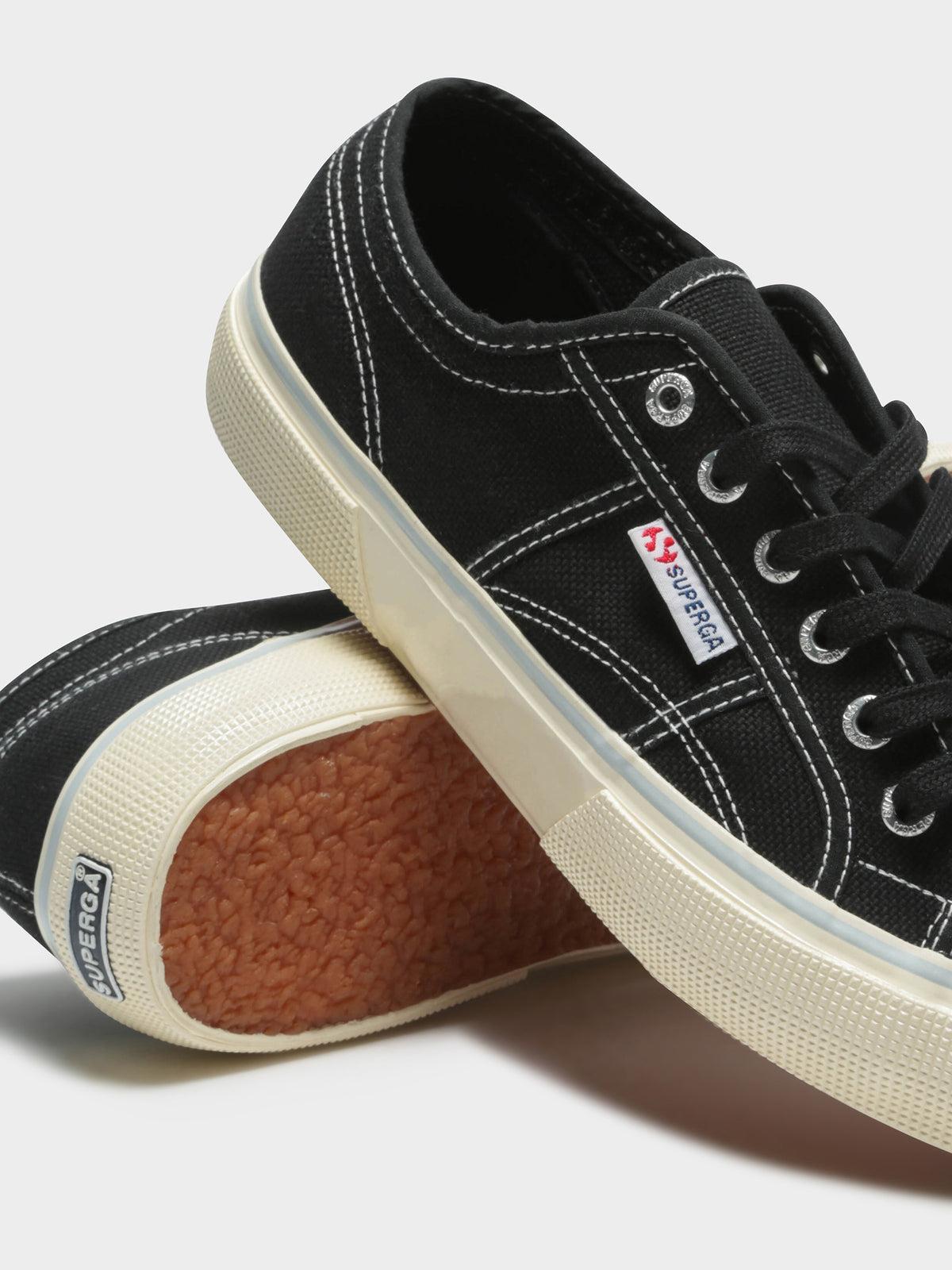 Mens 2490 Cotu Sneakers in Black & Blue