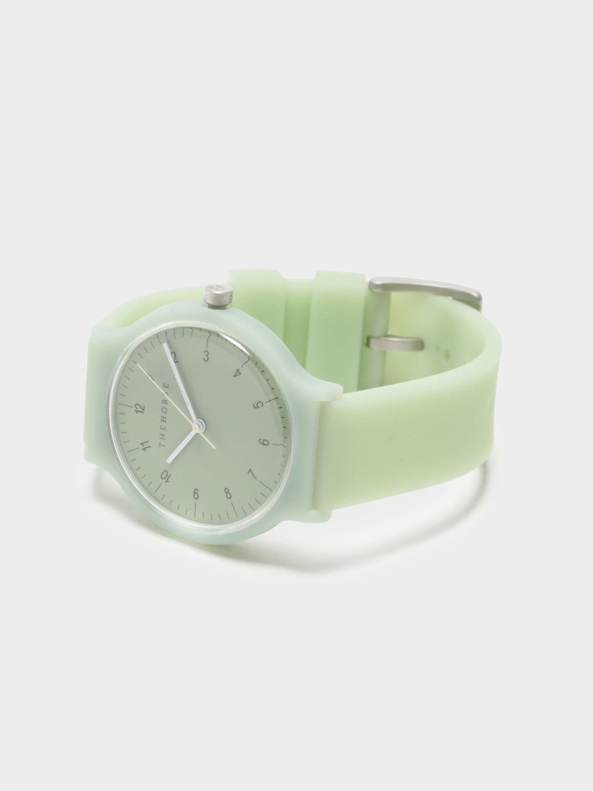The Blockout Watch in Light Green