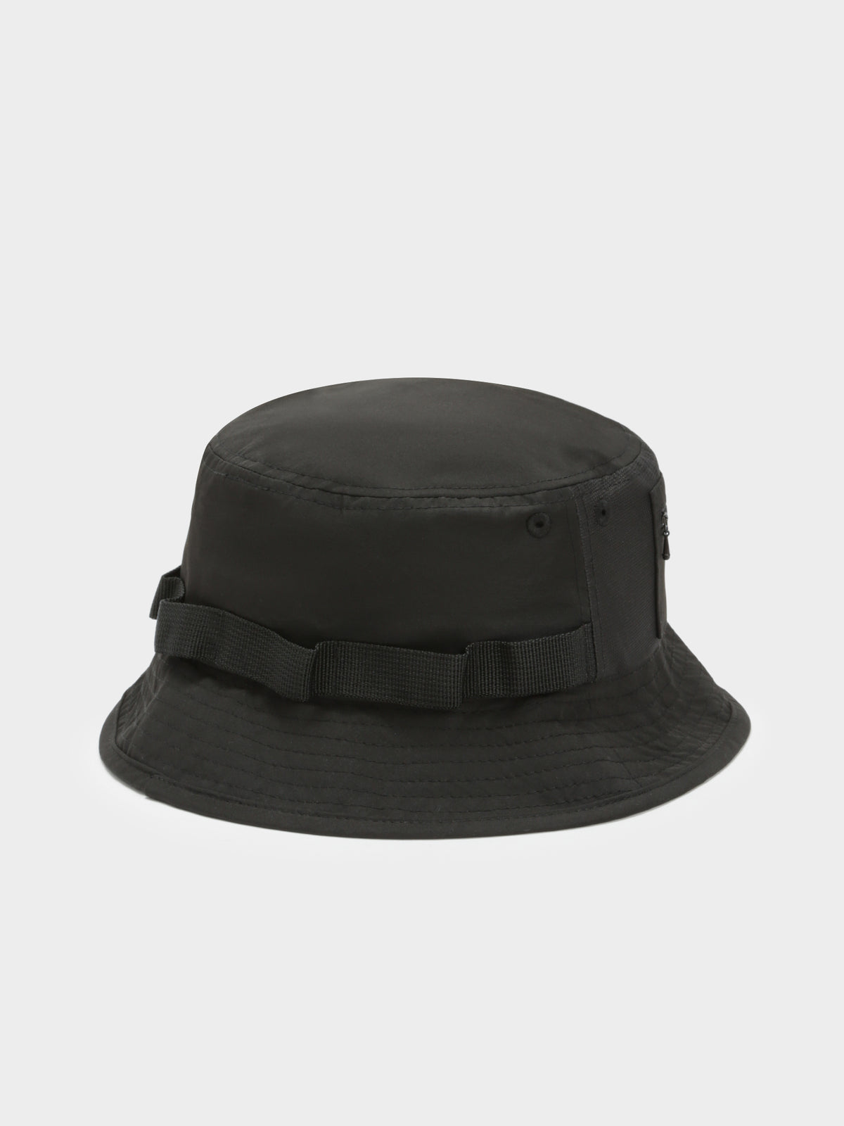 Mens Zarala Bucket Hat in Black