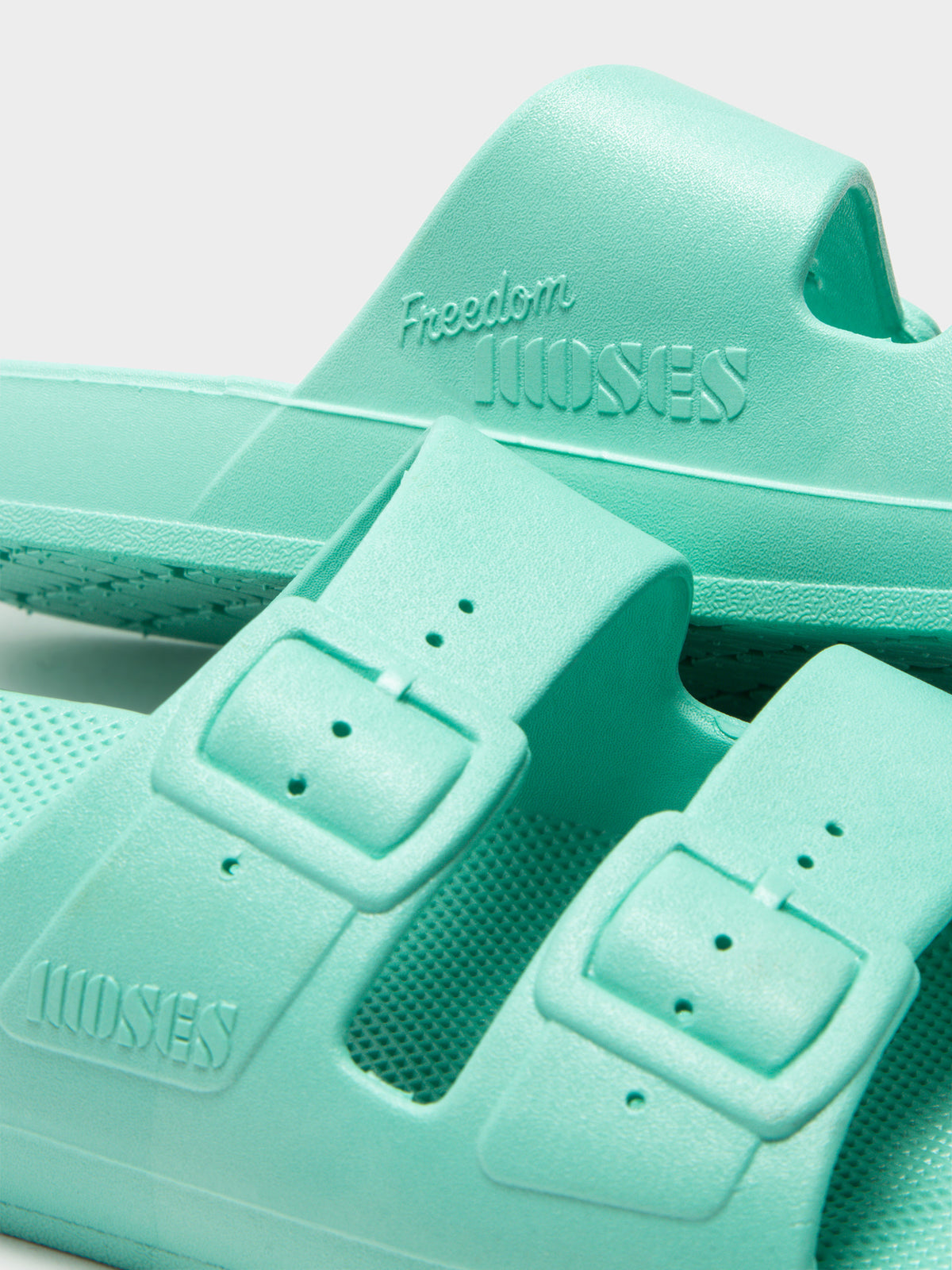 Unisex Freedom Moses Slides in Miami Teal