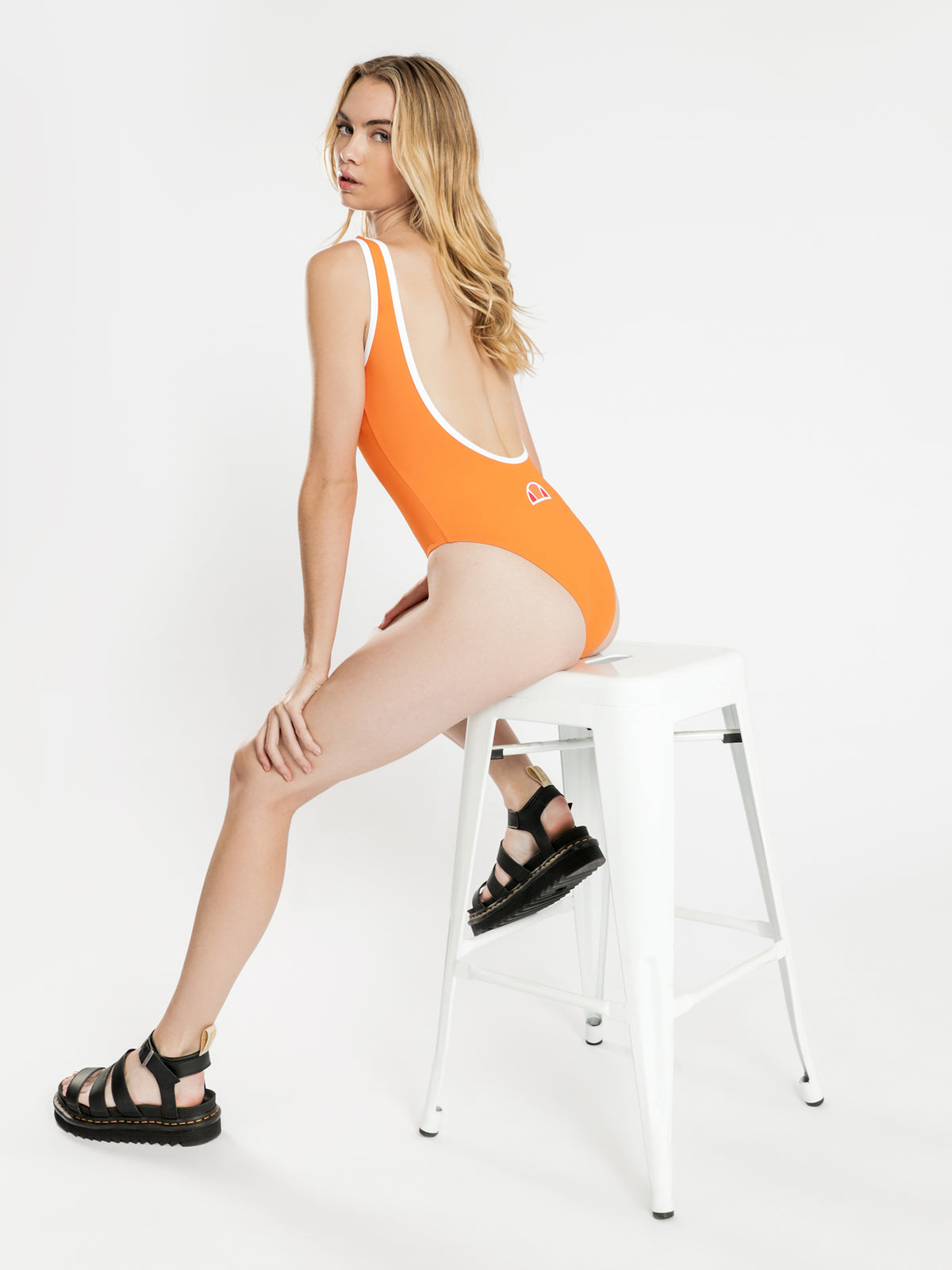 Lilly One Piece in Orange