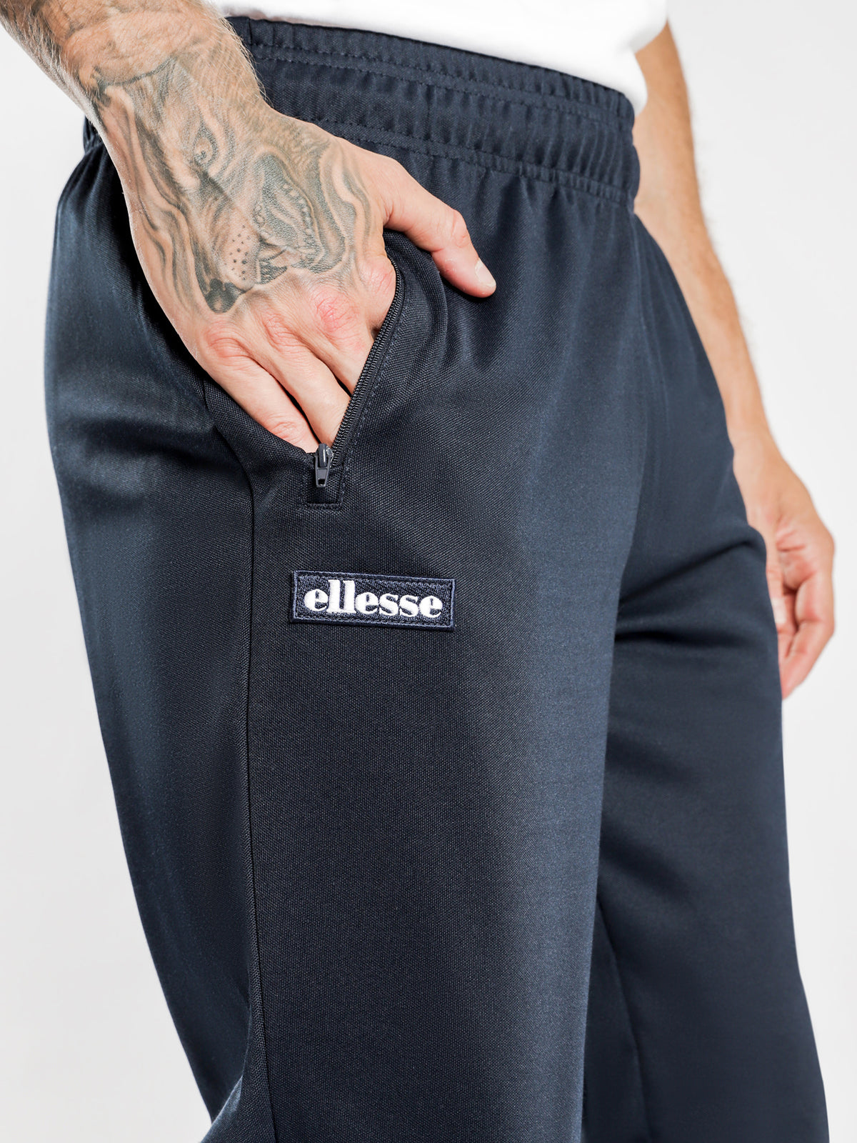 Bertoni Track Pants in Navy
