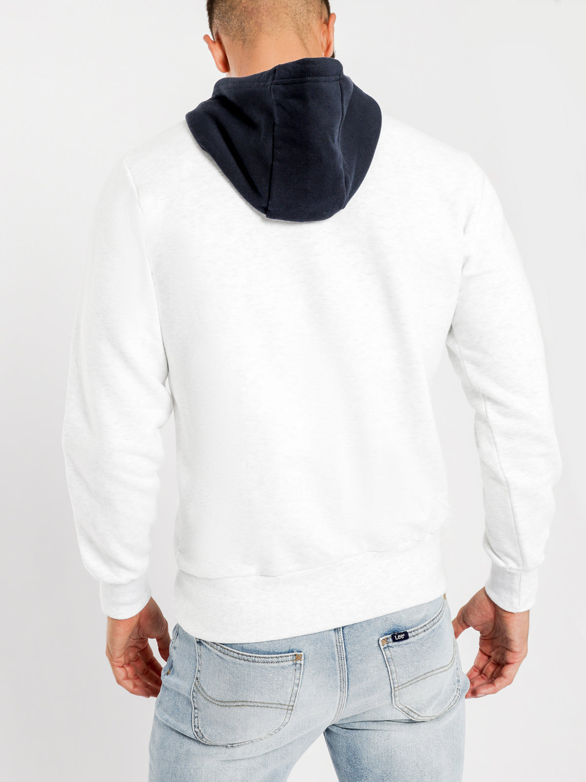 Piloma Hoodie in White Marle