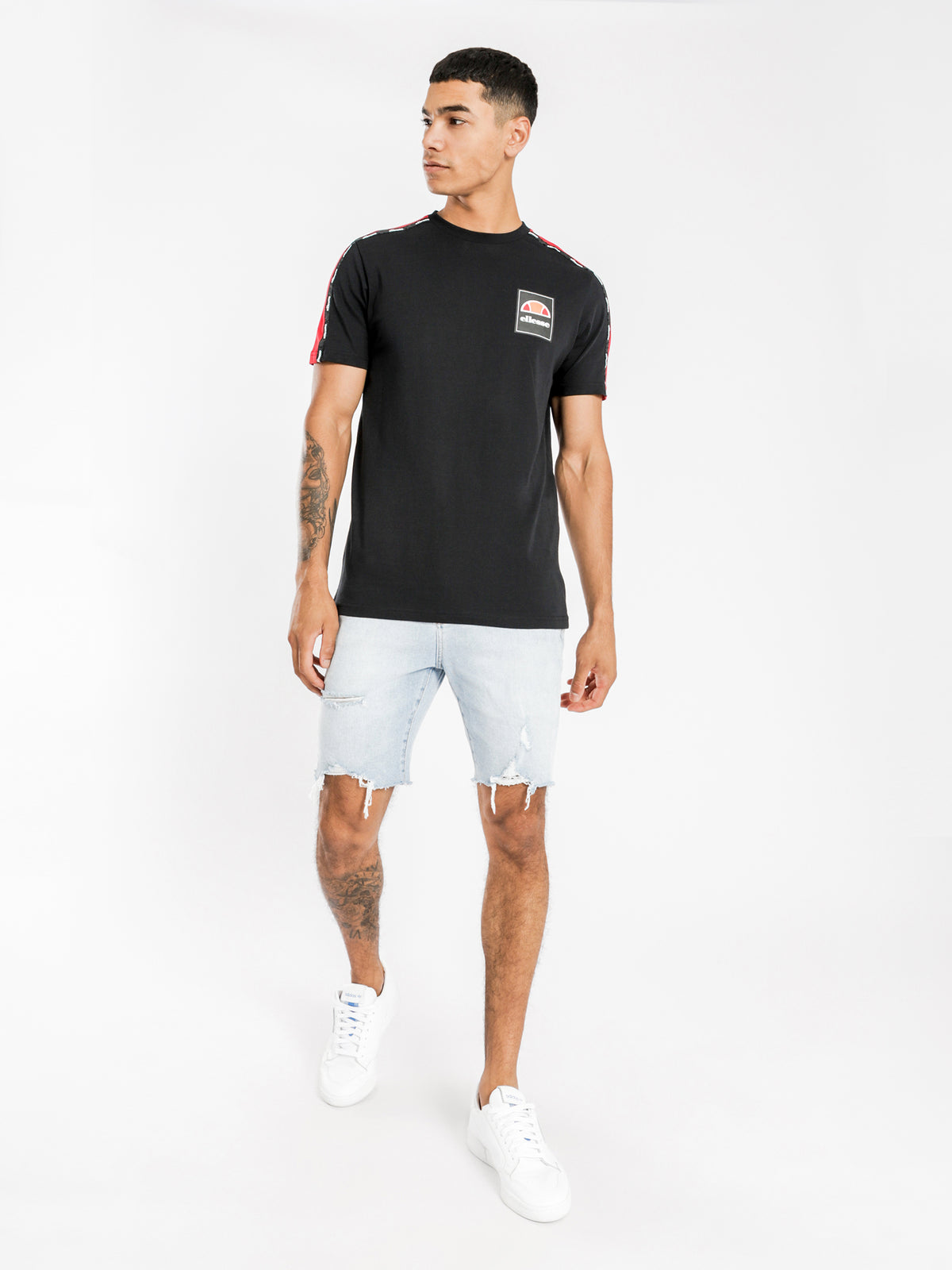 Serchio T-Shirt in Black