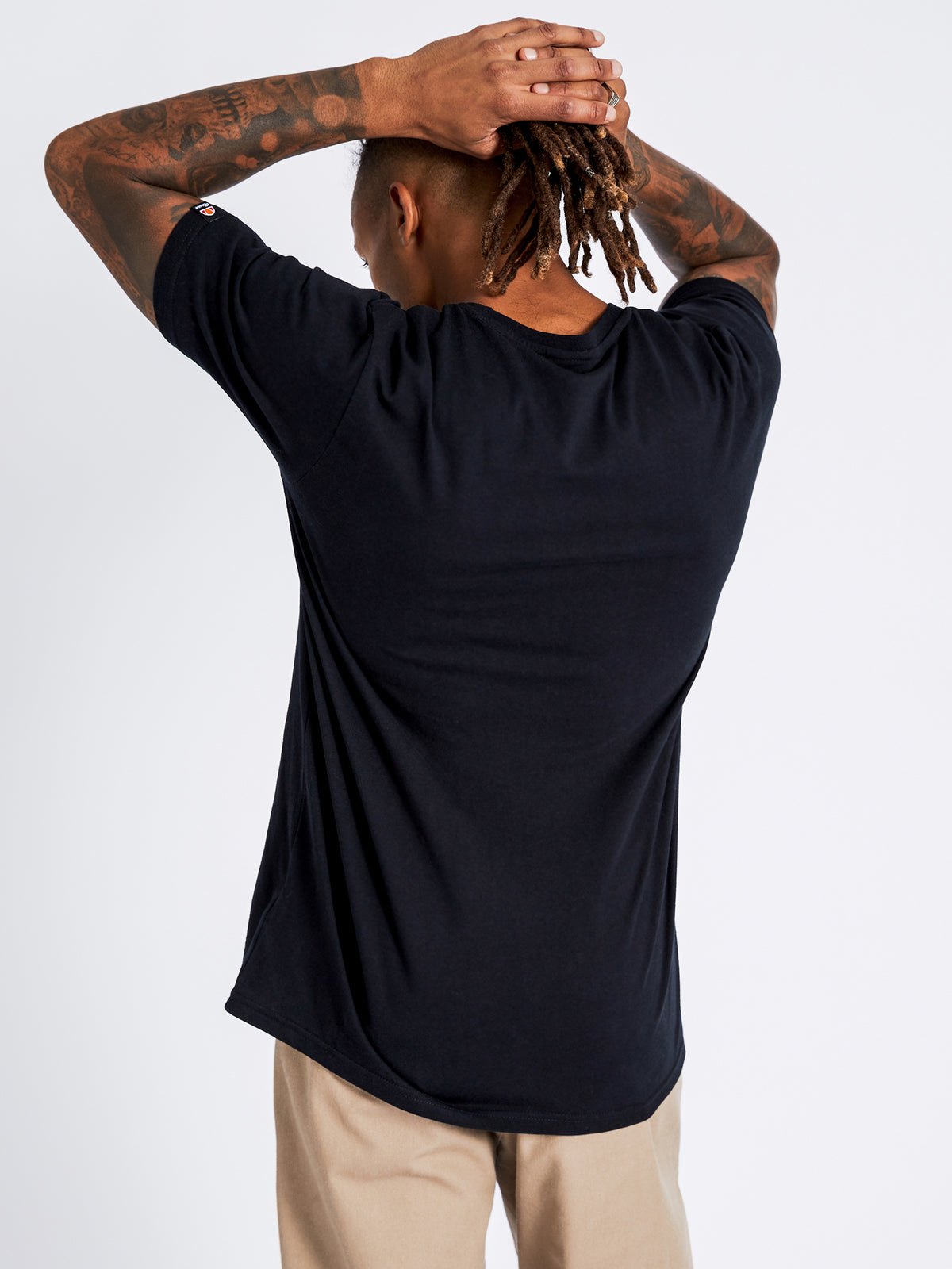 Canaletto T-Shirt in Anthracite Black