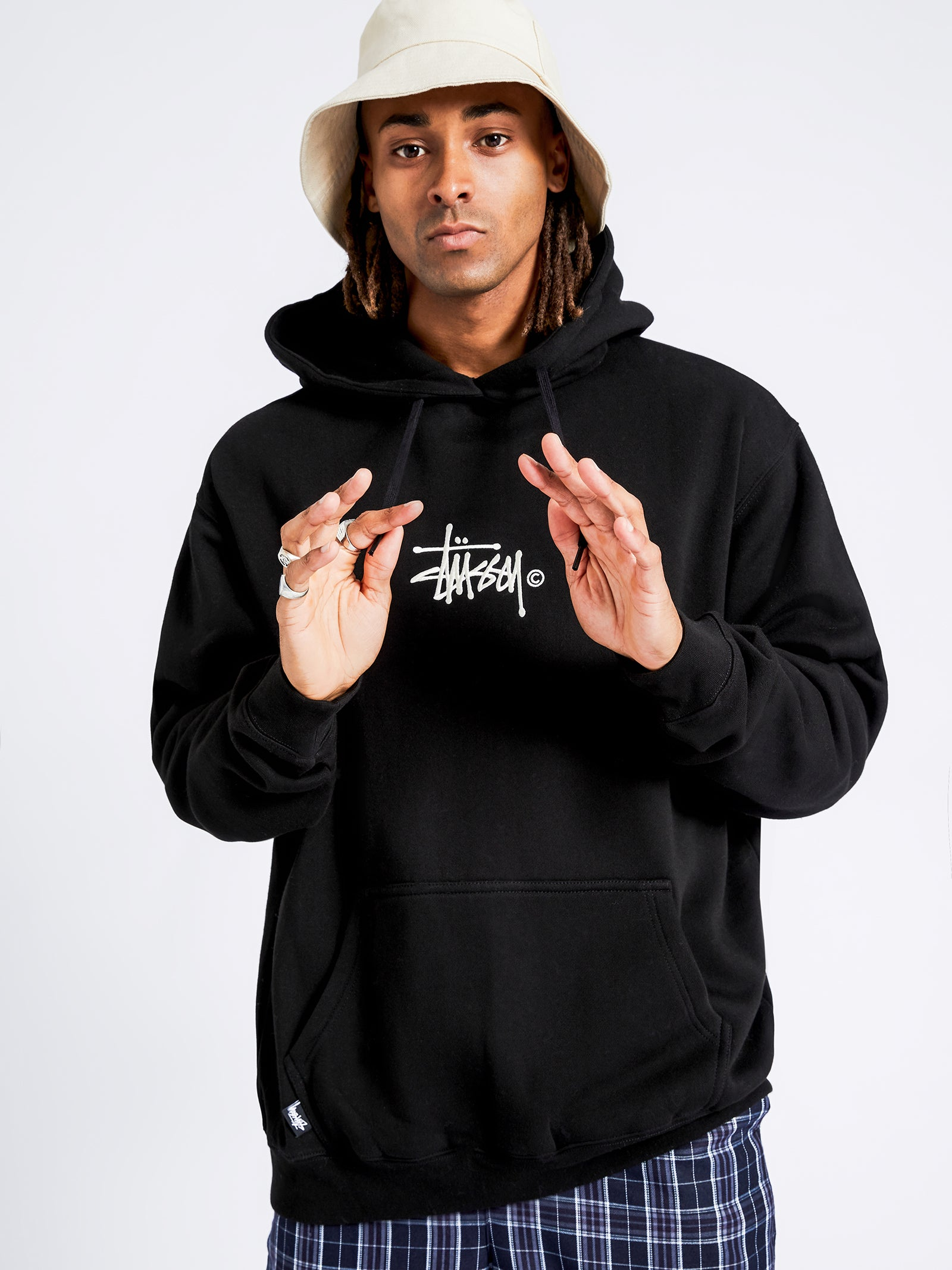 Graffiti Hoodie in Black