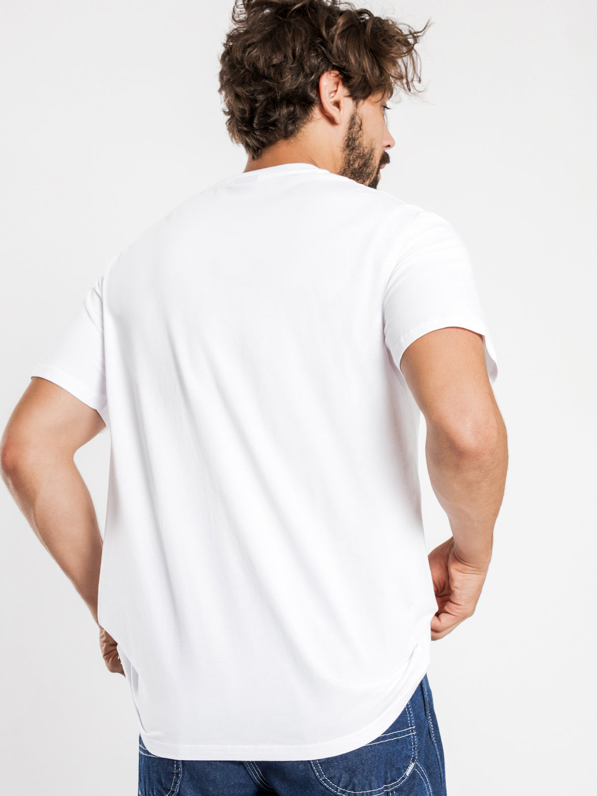 Stock International Short Sleeve T-Shirt in White