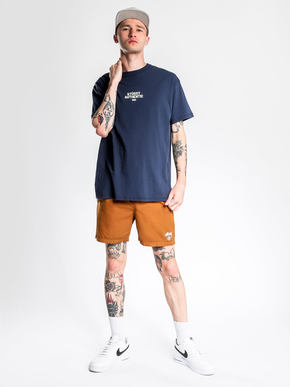 Authentic Short Sleeve T-Shirt in Navy