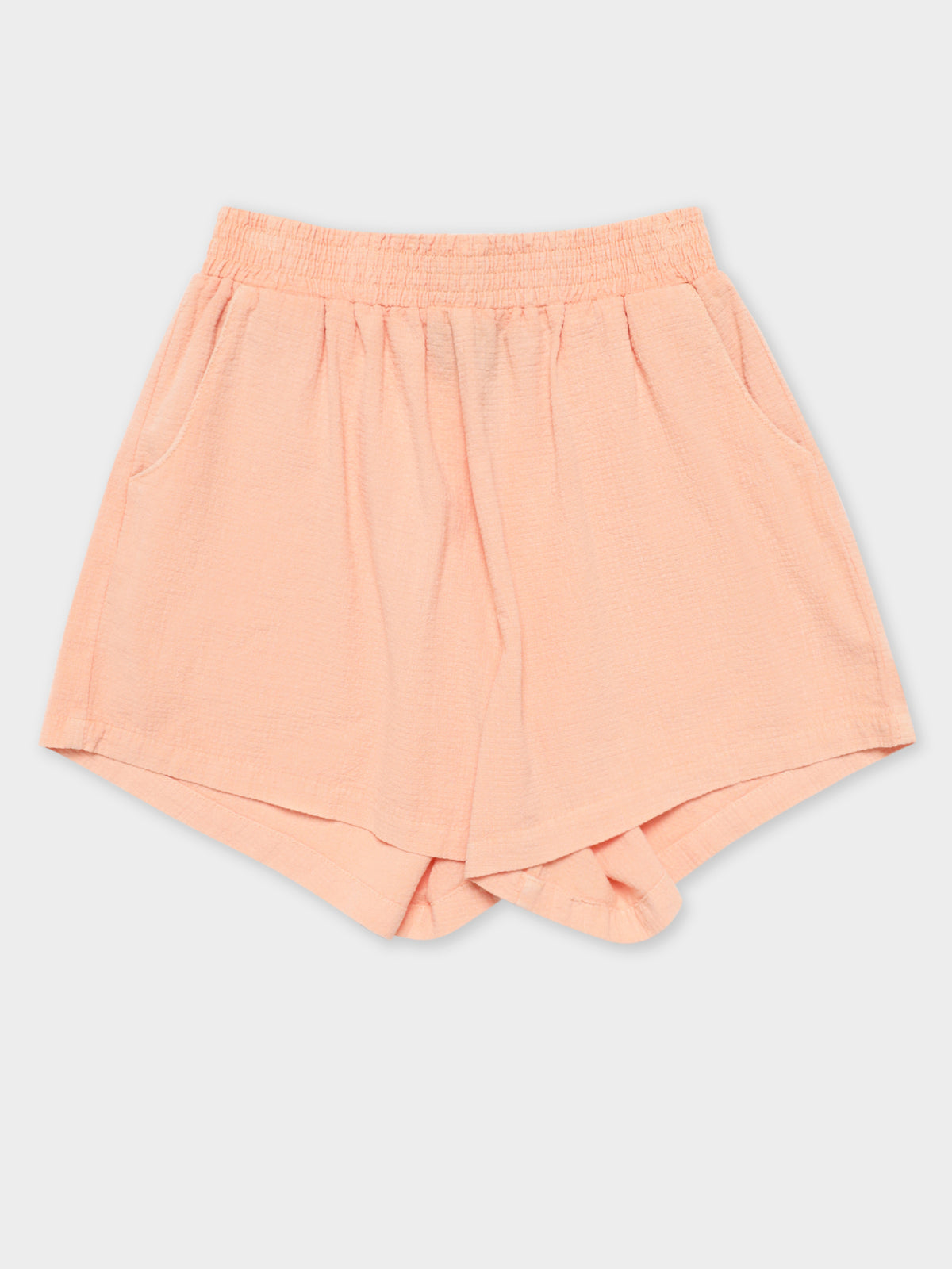 Vermont HW Shorts in Peach