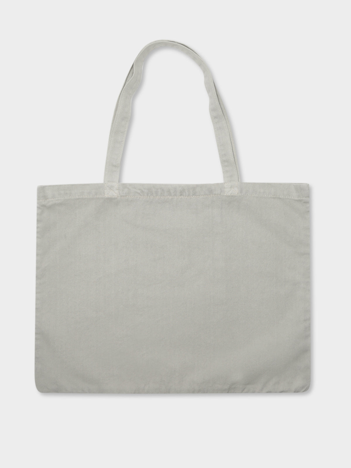 City Stack Tote Bag in White Sand