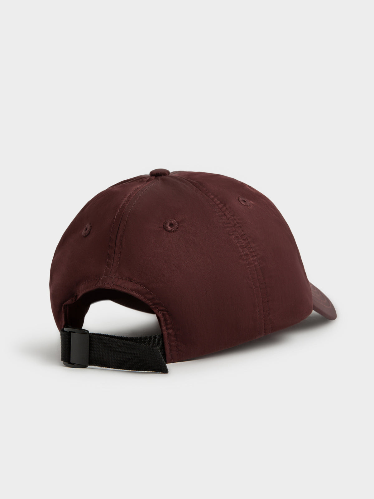 Authentic Satin Low Pro Cap in Berry