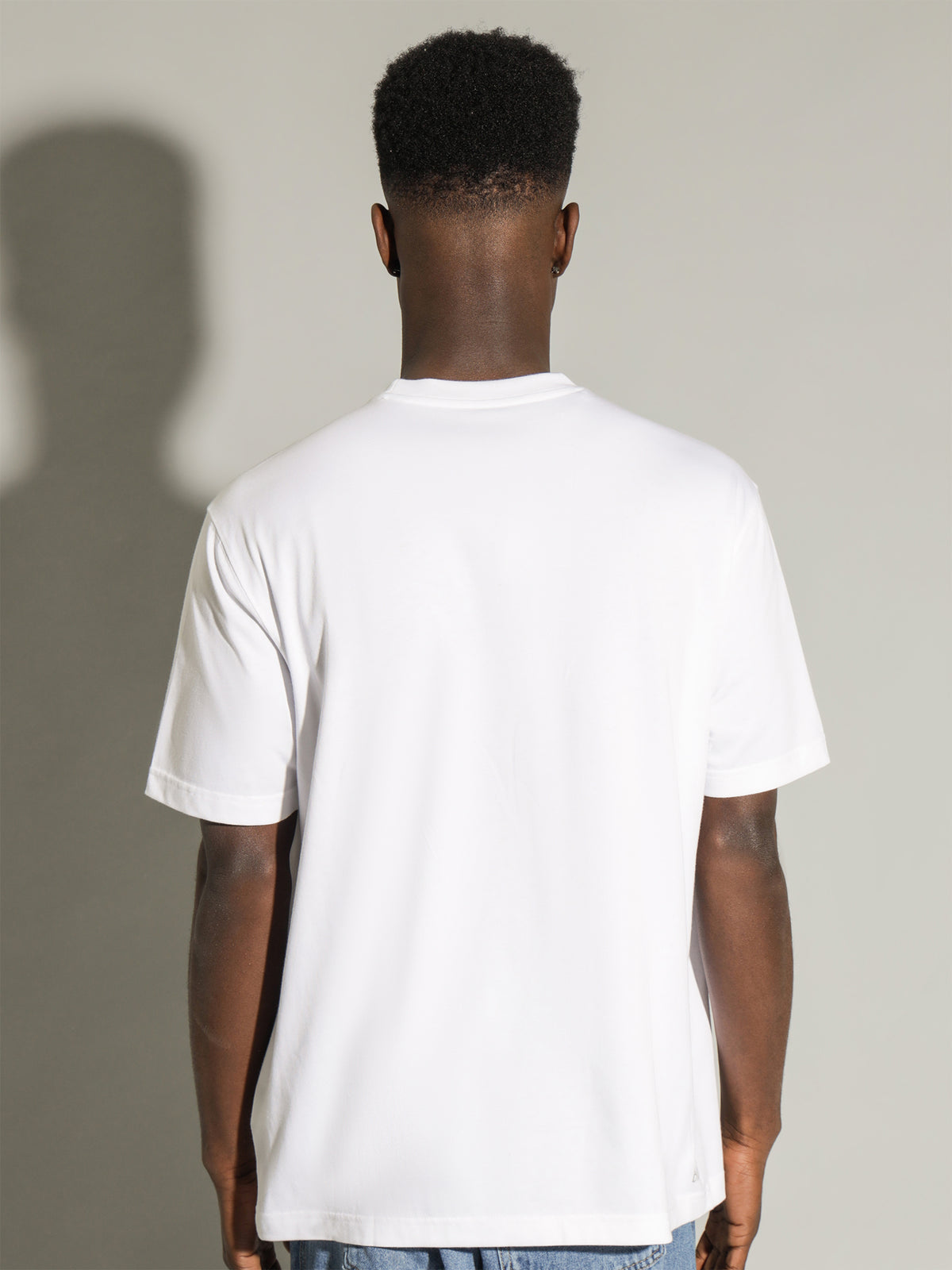 Basic Sport T-Shirt in White