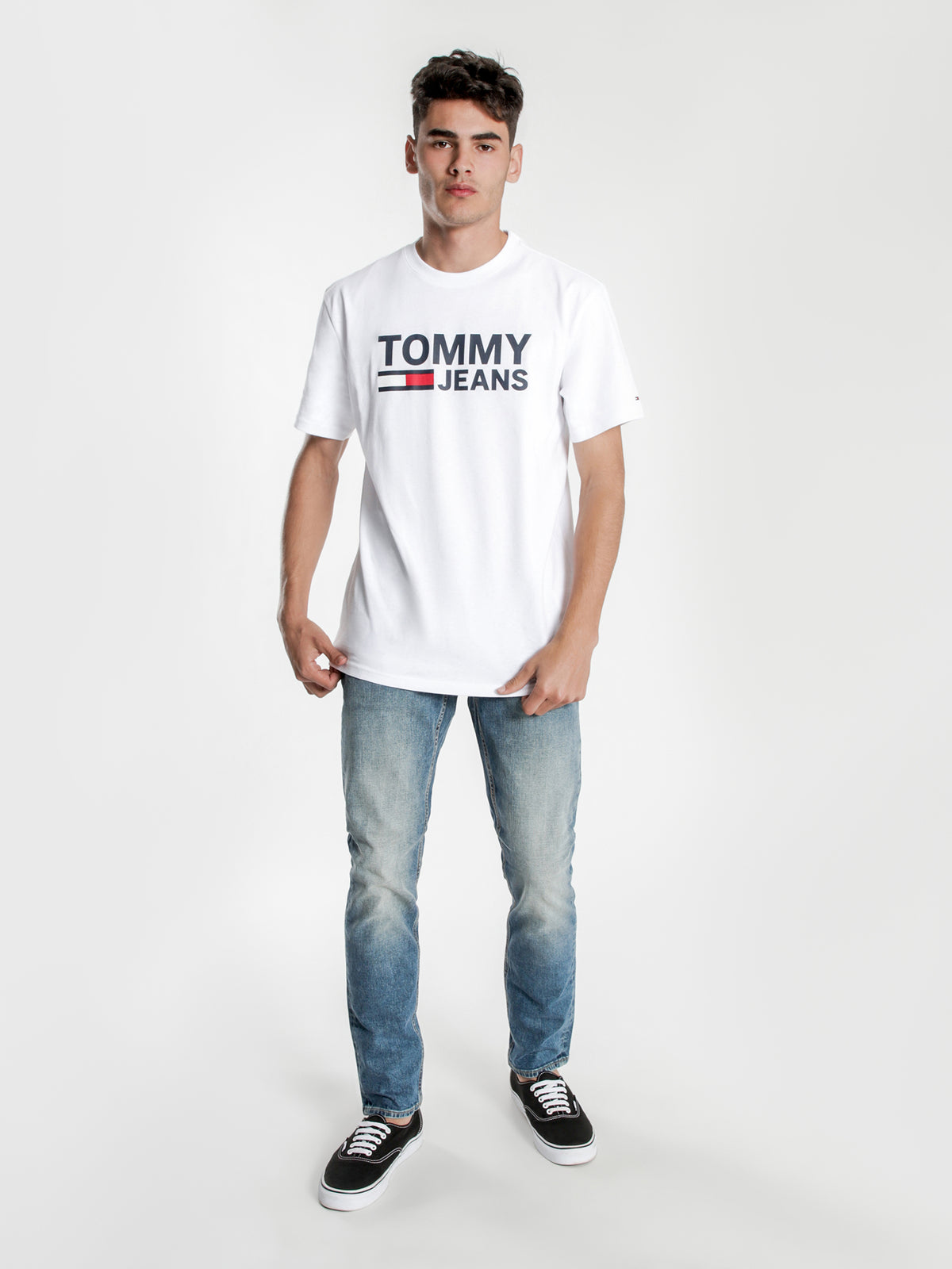 Classic Logo T-Shirt in White