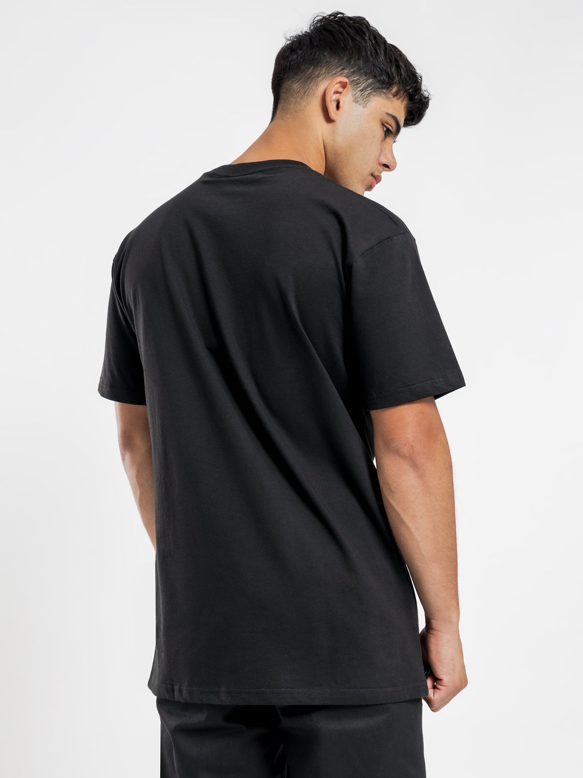 Gail Classic Fit Short Sleeve T-Shirt in Black