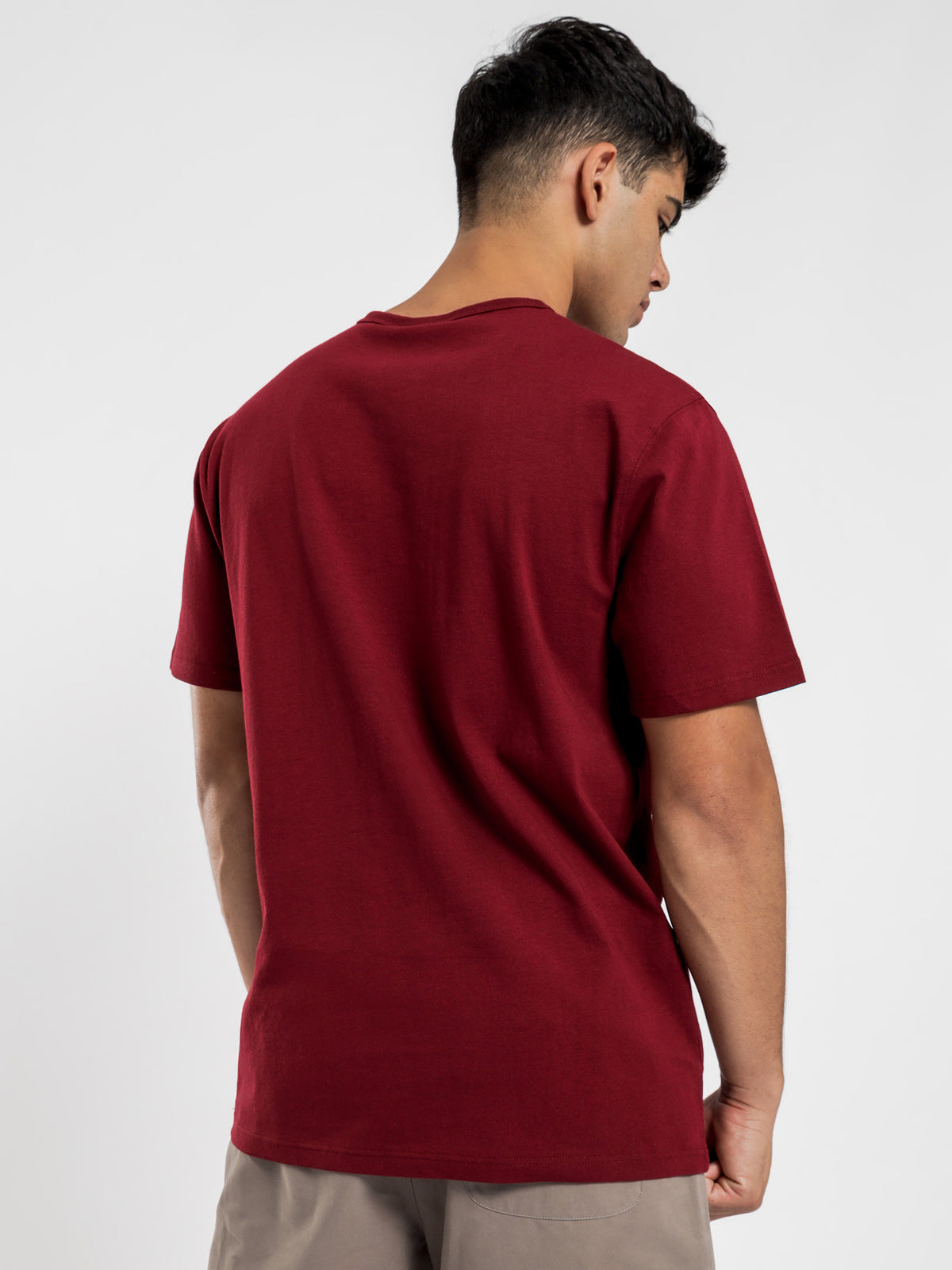 Heritage T-Shirt in Sepia Red
