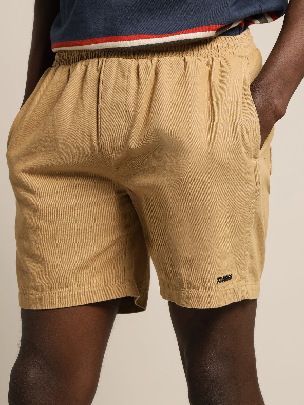 LA 91 Shorts in Khaki
