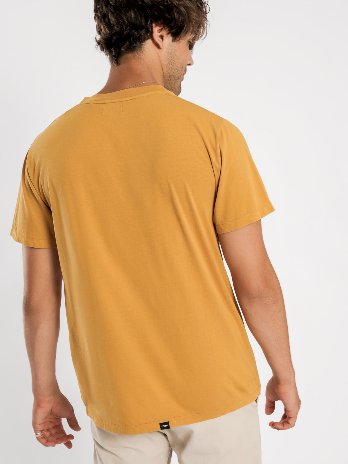 Strength Merch Fit T-Shirt in Yellow