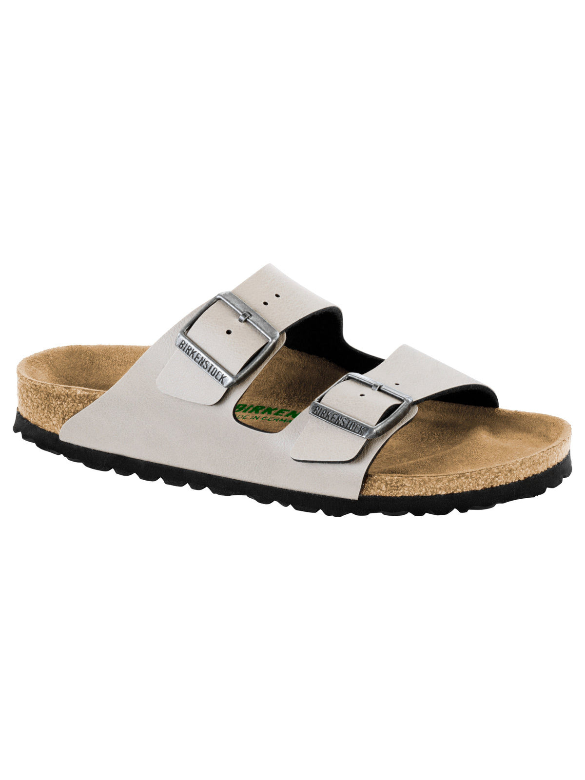 Unisex Arizona Two-Strap Sandals in Stone
