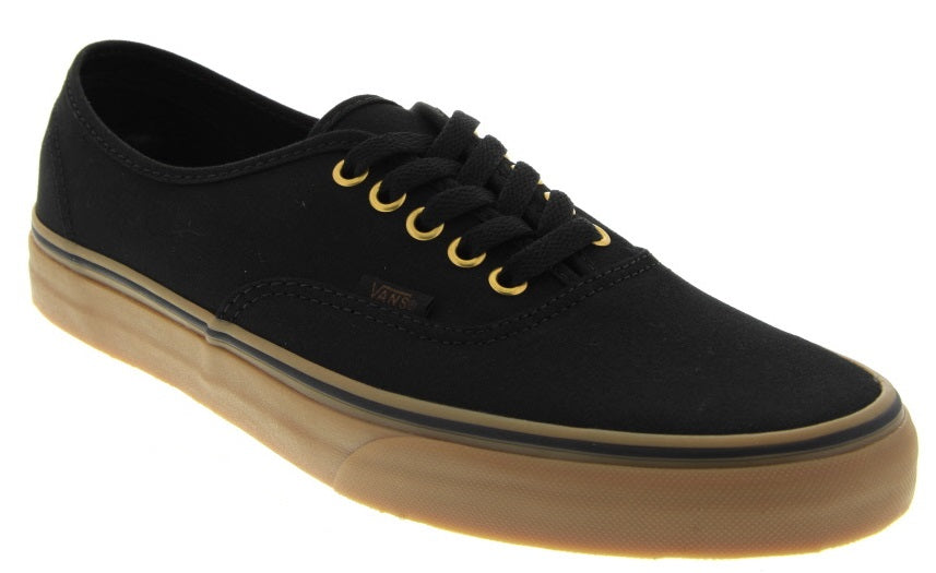 Authentic Sneaker in Black & Brown